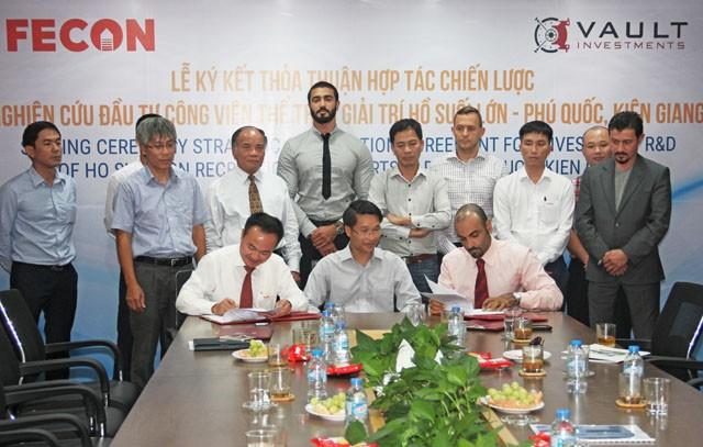 FCN bắt tay cùng Quỹ đầu tư VAULT nghiên cứu dự án tại Phú Quốc