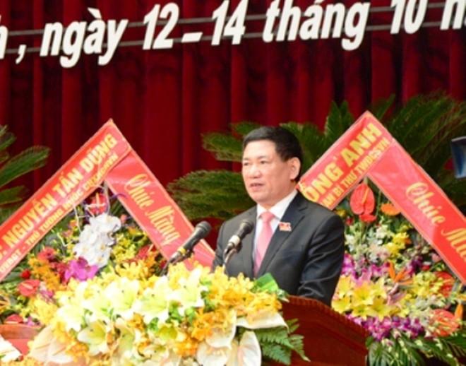 Danh sách Ban Thường vụ, Ban Chấp hành Đảng bộ tỉnh Nghệ An khóa mới
