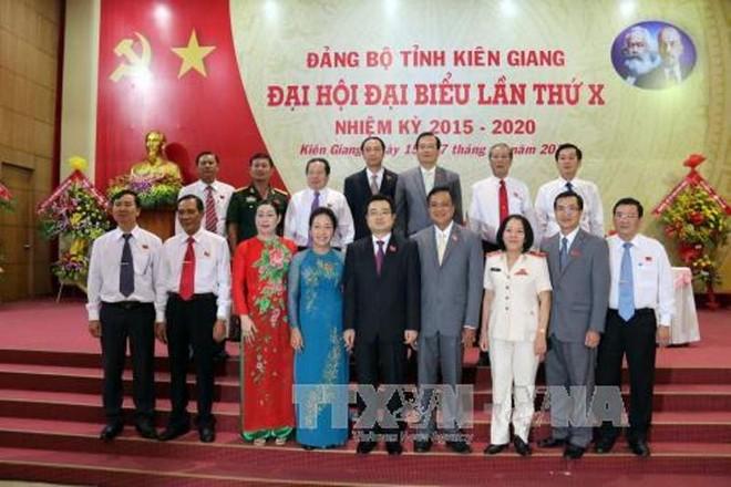 Kiên Giang ra mắt Ban Chấp hành Đảng bộ tỉnh khóa X