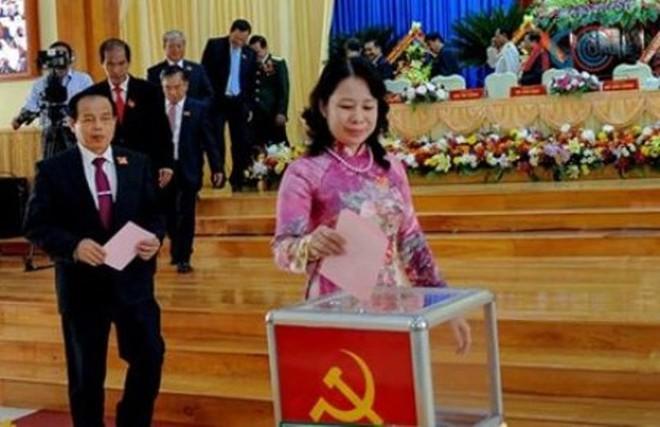 Đồng chí Võ Thị Ánh Xuân được bầu giữ chức Bí thư An Giang