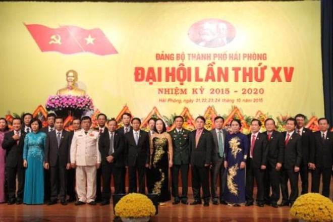 Đồng chí Lê Văn Thành trúng cử Bí thư Thành ủy Hải Phòng