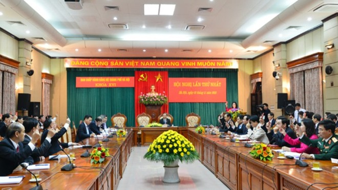 Ông Phạm Quang Nghị phụ trách Đảng bộ TP. Hà Nội