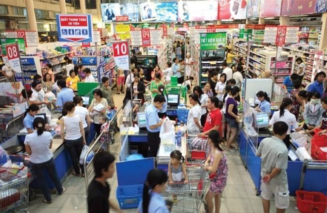 Chỉ số niềm tin của người tiêu dùng Việt Nam tăng nhẹ