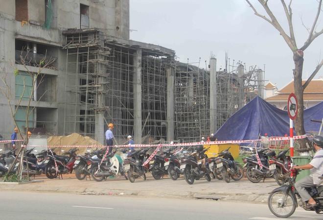 Thông tin mới nhất về vụ sập giàn giáo công trình tòa nhà Luxury Apartment Đà Nẵng