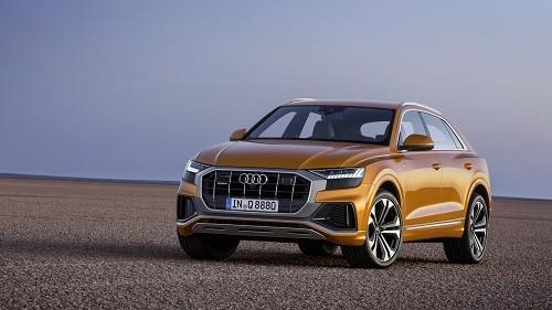 Audi Q8, một trong nhiều SUV hạng sang ra mắt trong 2018. Ảnh: Carscoops.
